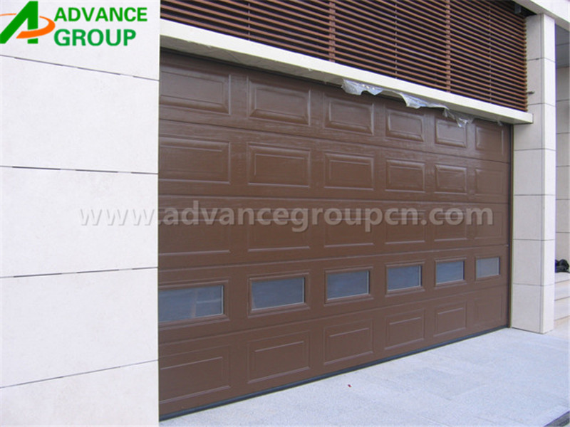 European standard Insulated Wood Garage Door