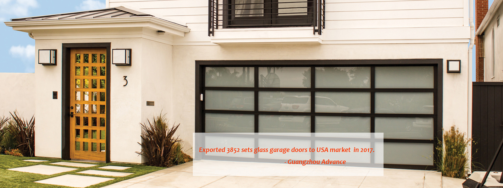 USA Glass Garage Door
