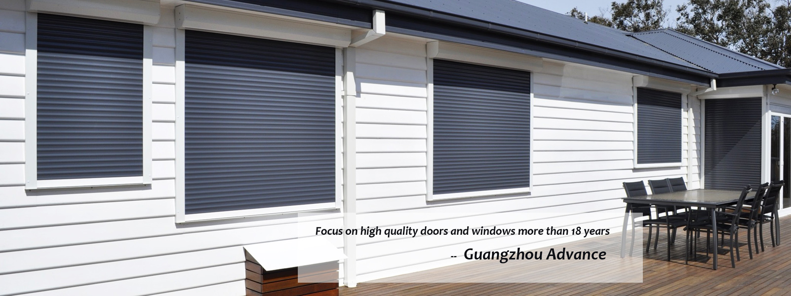 aluminum shutter windows