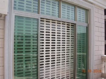 Commercial Aluminum Roll UP Grille Doors